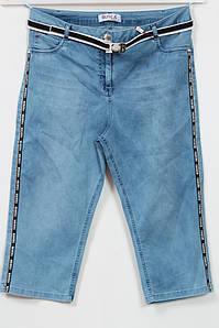 Женские летние джинсовые шорты больших размеров 56-62