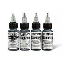 Набор красок Grey Wash Silverback Ink XXXX 4 Colors