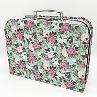 Подарочная упаковка в виде чемодана с ручкой