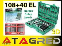 Набор инструментов 108 шт + набор бит 40 шт Torx Tagred