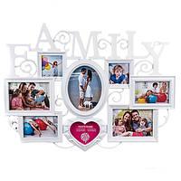 "Рамка для фото, фотоколлаж ""Family"""
