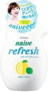 """Мыло жидкое для тела """"Naive - экстракт лимона"""" 530ml, фото 2"""