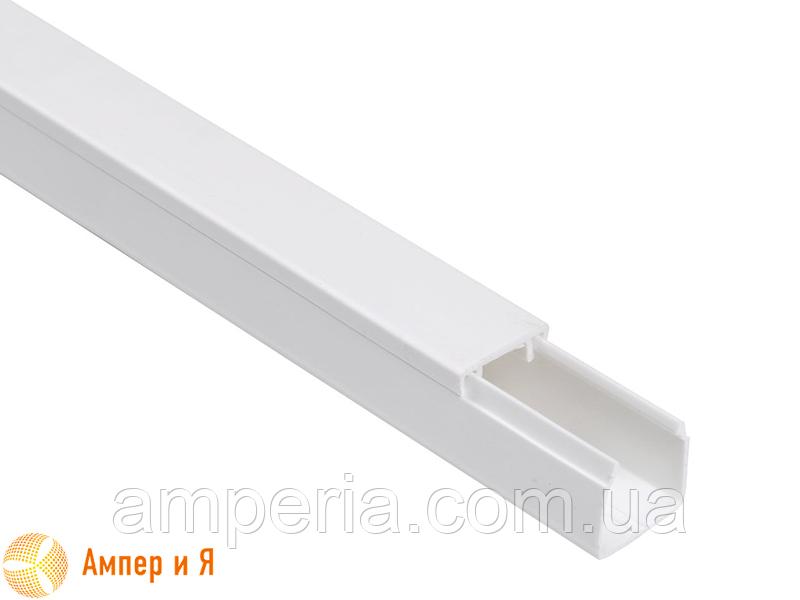 IEK Короб пластиковый, кабель-канал «ЭЛЕКОР» 40/2х16 мм, 2м (CKK10-040-016-2-K01)
