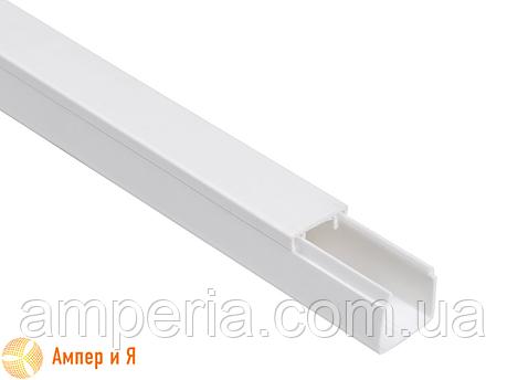 IEK Короб пластиковый, кабель-канал «ЭЛЕКОР» 40/2х16 мм, 2м (CKK10-040-016-2-K01), фото 2