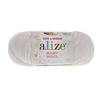 Alize Baby wool (Ализе Беби вул) 55 детская пряжа