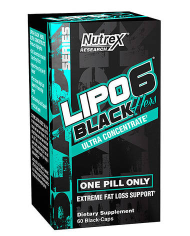 Nutrex Lipo 6 Black Hers Ultra concentrate 60 caps, фото 2