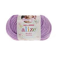Alize Baby wool (Ализе Беби вул) 672 детская пряжа
