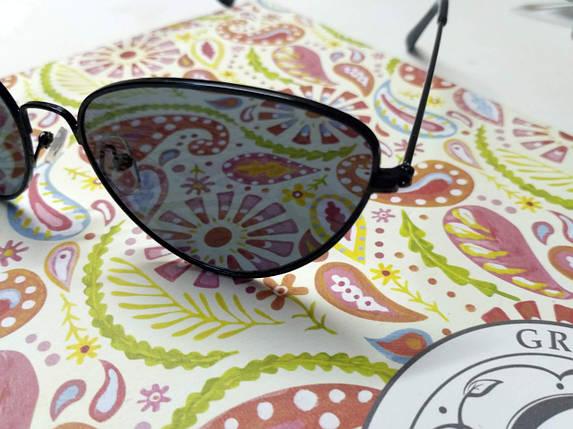 Солнцезащитные очки-кошки в стиле ретро винтаж, фото 2