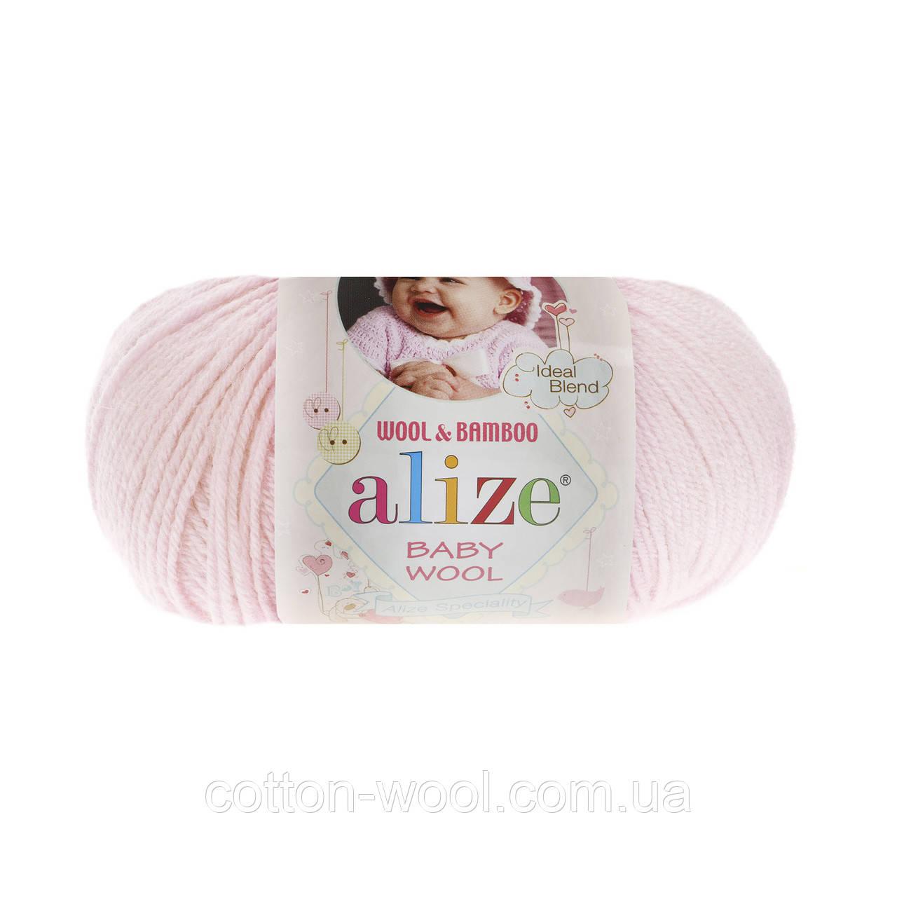 Alize Baby wool (Ализе Беби вул) 184 детская пряжа