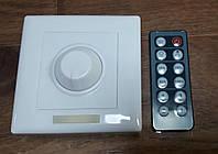 Диммер для монохромной LED ленты OEM 8A-IR-12 кнопок 1 канал, фото 1