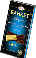 Фабрика имени Крупской Банкет elegant горький шоколад 82% какао, 88 гр.