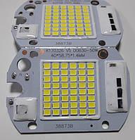 Светодиодный модуль. Матрица SMD +IC драйвер 50w, 220V  с встроенным блоком питания