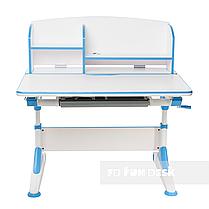 Парта-трансформер для школьника FunDesk Trovare Blue с надстройкой, фото 3