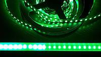 Светодиодная лента  3528-120 IP20  зеленый, негерметичная