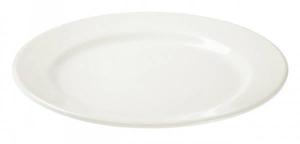 Тарелка обеденная Ipec Bari 24 см (айвори) FIB24I, фото 2