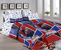Комплект детского постельного белья с компаньоном Спайдермен