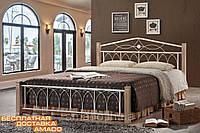 Кровать Миранда 1600*2000 ДЛ (крем) Domini