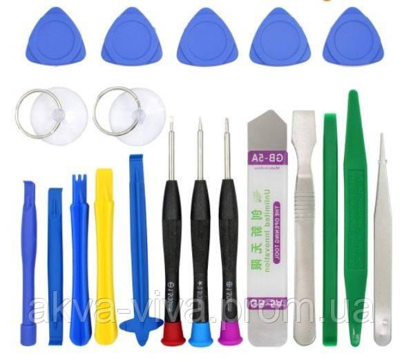 (20 в 1) Набор инструментов для ремонта мобильных телефонов