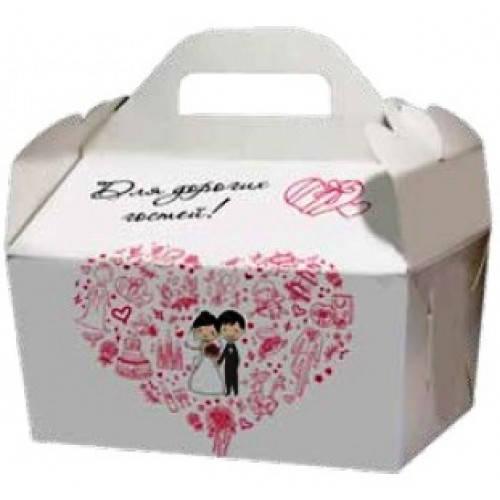 Коробки для подарков гостям, love