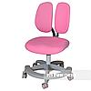Подростковое ортопедическое компьютерное кресло Primo от 9 до 18+ лет ТМ FunDesk Розовый 221770