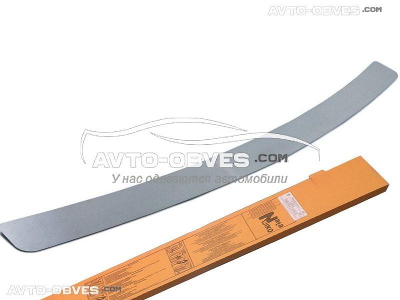 Накладка на задний бампер Hyundai Santa Fe II 2010-2012 без загиба