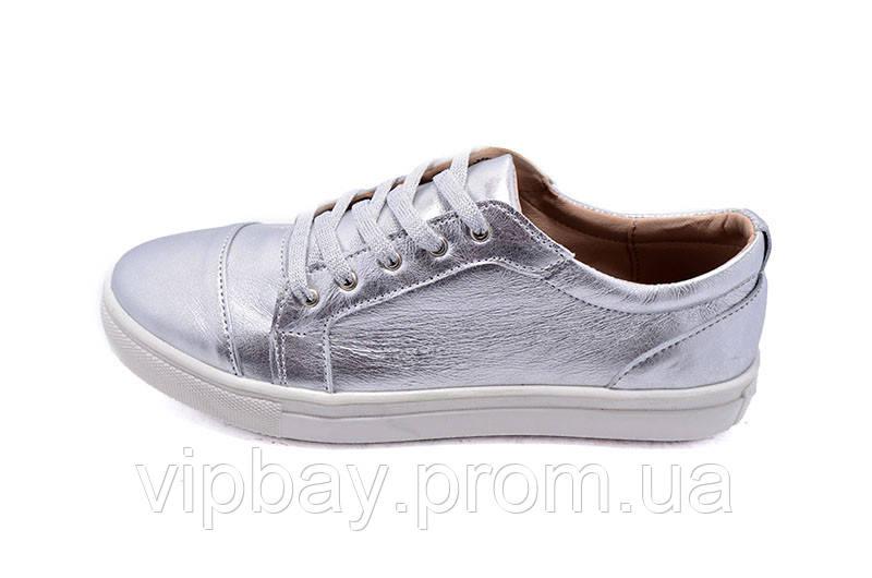 Кеды женские Multi-Shoes Lucky Silver