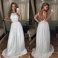 709c7394e2d Белое Платье в Пол с Открытой Спиной — Купить Недорого у Проверенных ...