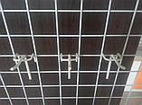 Торговий гачок  50мм на сітку одинарний- 10шт, фото 5
