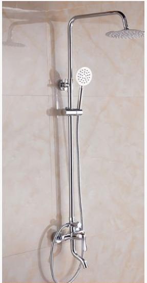 Стойка в ванную комнату со смесителем 5-029