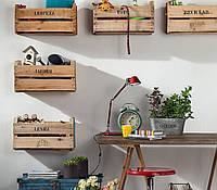 Ящики деревянные декоративные