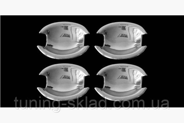 Хром мыльнички   Nissan Tiida 2004-2011  (Ниссан Тиида)