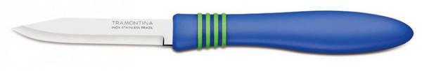Набор ножей для овощей Tramontina Cor & Cor 23461/213 76 мм 2 штуки, фото 2