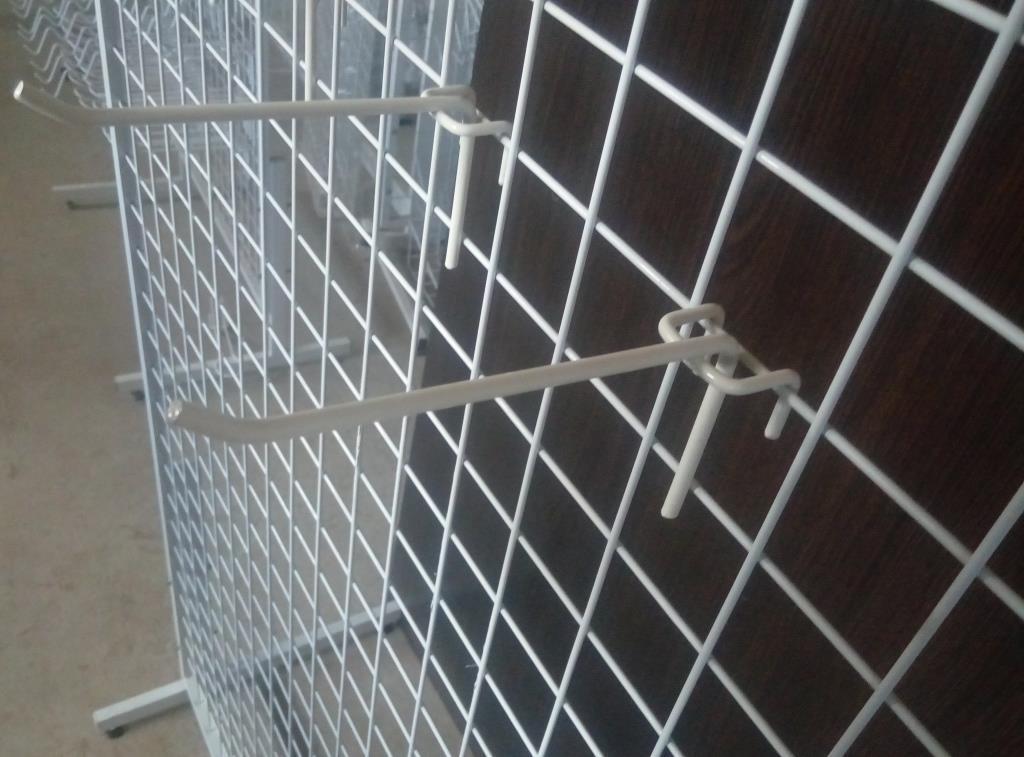 Торговий гачок (крючок) на сітку 150 мм одинарний, фото 1