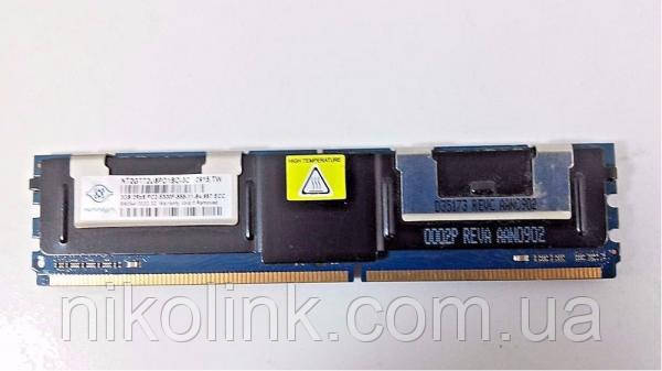 Память SmartModular DDR2 2GB PC2-5300F (667Mhz) (SG5SD42N2G1BDDEIBH) комиссионный товар