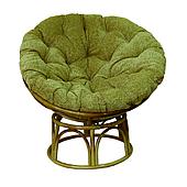 Овальное плетенное кресло Папасан ЧФЛИ 1050 мм из ротанга