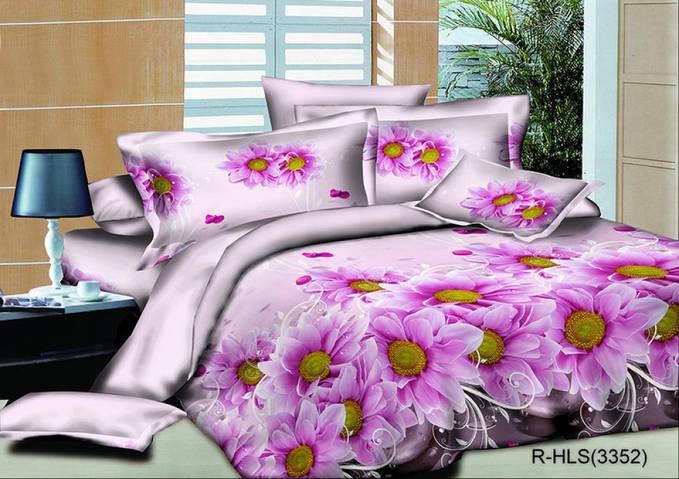 Полуторный комплект постельного белья Пурпурный шлейф, ранфорс .