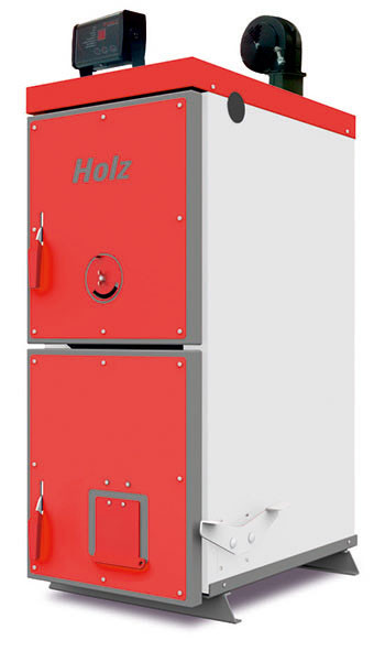 Котел твердотопливный длительного горения Heiztechnik Holz PLUS 13