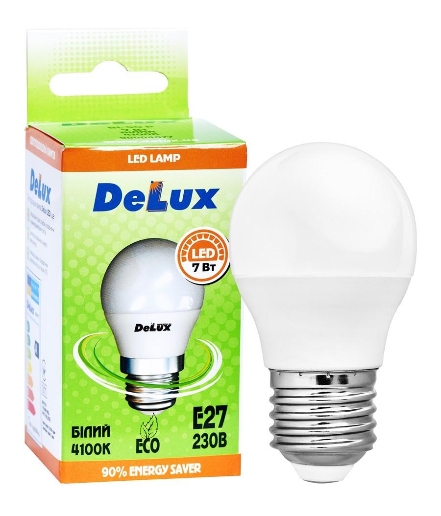 Лампа світлодіодна DELUX BL50P 5Вт 4100K 220В E27