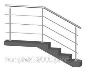 ограждение на лестницу из нержавеющей стали