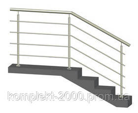 ограждение лестницы металлическое