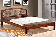 Кровать Джульетта (Ольха)  160*200*91