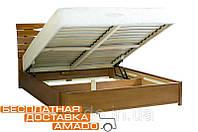 Кровать Мария (бук) с подъемным механизмом 160*200*92