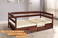 Кровать Ева (бук) с ящиками 900х2000