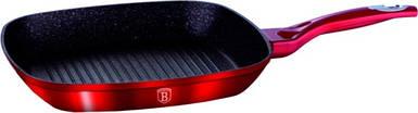 Сковорода-гриль Berlinger Haus Burgundy Metallic Line 28 см BH-1271N