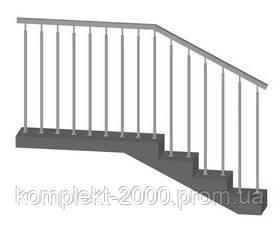хромированные перила для лестниц