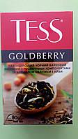 Чай Tess Goldberry 90 г чорний, фото 1