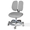 Подростковое ортопедическое компьютерное кресло Primo от 9 до 18+ лет ТМ FunDesk Серый 221771