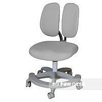 Подростковое ортопедическое компьютерное кресло Primo от 9 до 18+ лет ТМ FunDesk Серый 221771, фото 1