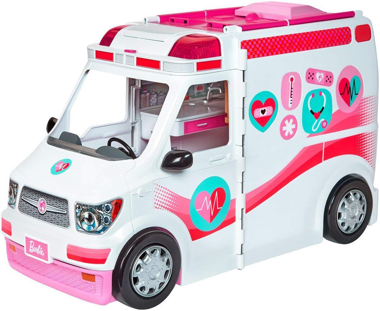 Набор Барби Машина скорой помощи Barbie Care Clinic Ambulance