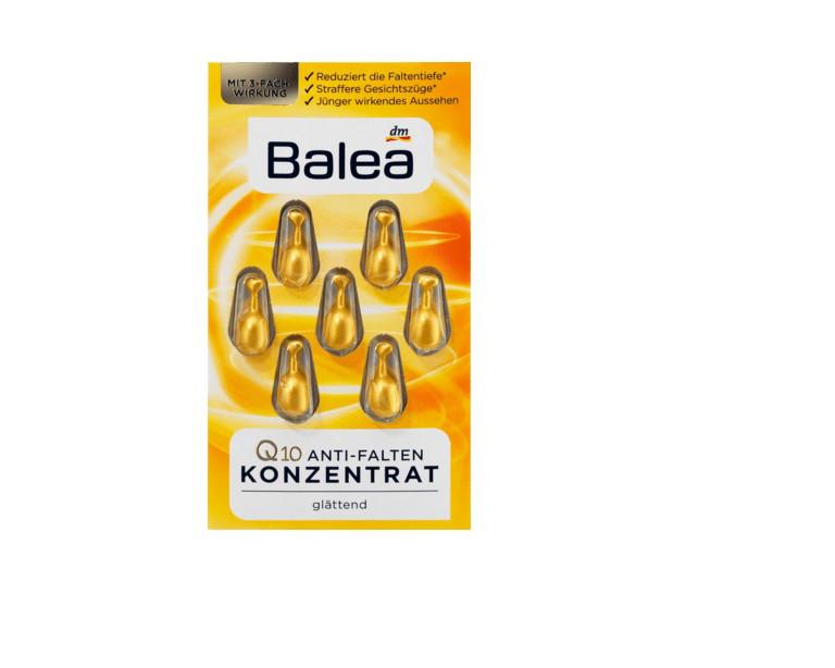 Капсулы для лица Balea Q10 Anti-Falten Konzentrat 7 шт